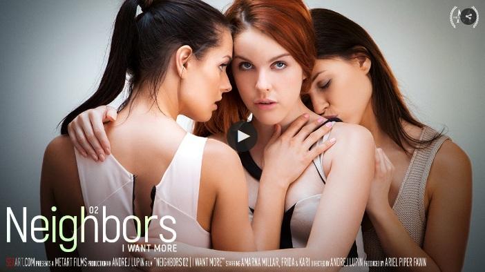 SexArt – I Want More – Amarna Miller, Kari A And Frida