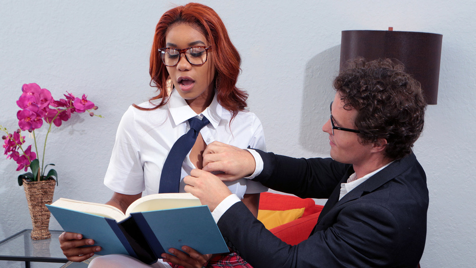 [BigTitsAtWork] Jenna Foxx – Banging The Bookworm
